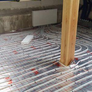 Realizacja ogrzewania podłogowego